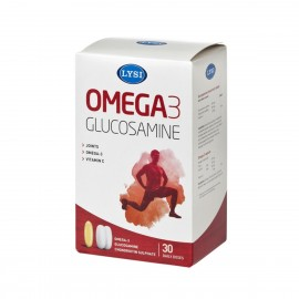 Dureri articulare? Te ajuta Omega-3 Glucozamina de la Lysi!
