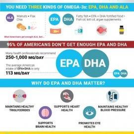 Nu toti acizii grasi omega 3 sunt identici. Care sunt cei mai importanti acizi grasi Omega 3?