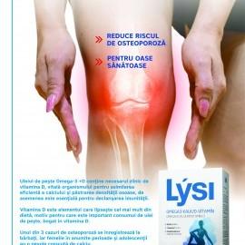 Omega 3 + D Calcium – Lupta cu Osteoporoza!