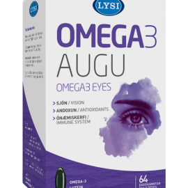 Omega-3 Ochi Sanatosi LYSI sustine dezvoltarea si mentinerea acuitatii vizuale