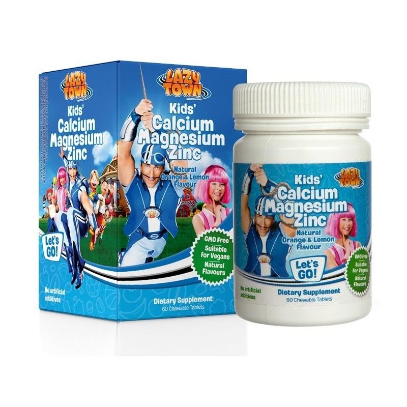 LazyTown Kids CalciumMagnesiumZinc