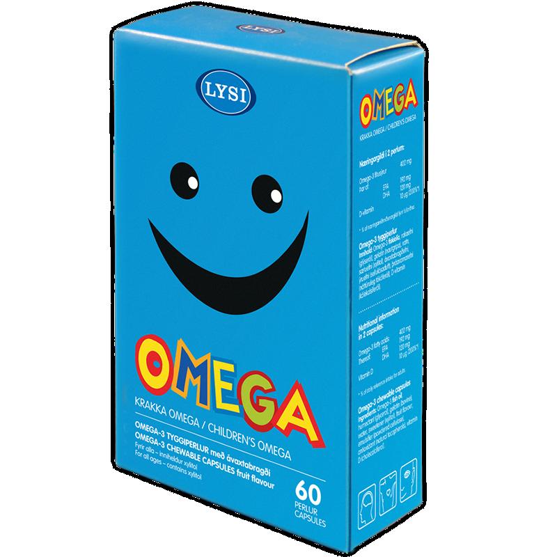 Omega-3 chewable